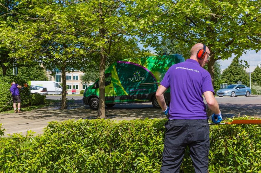 Nurture focuses on corporate locations such as Arlington Business Park. Image: Nurture Landscapes
