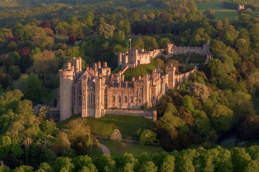 Arundel Castle - credit: Pixabay