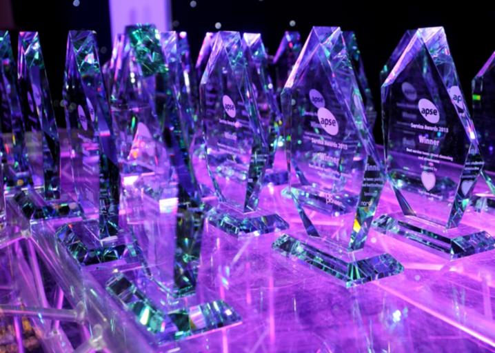 APSE Service Awards - credit: APSE