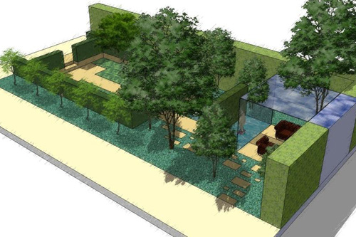 Chelsea Flower Show garden will aim to raise awareness of Arthritis Research UK (image: Chris Beardshaw)