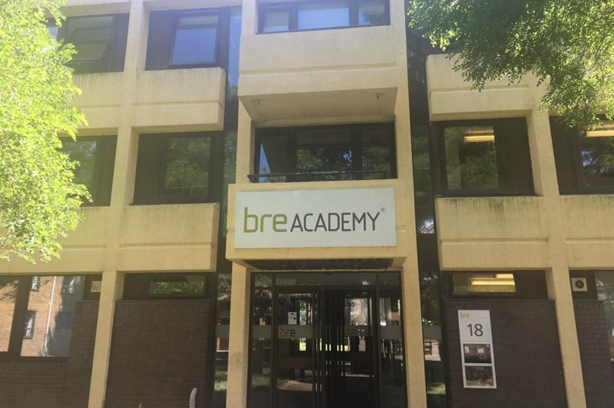 The BRE Academy where the study will take place - image: HW