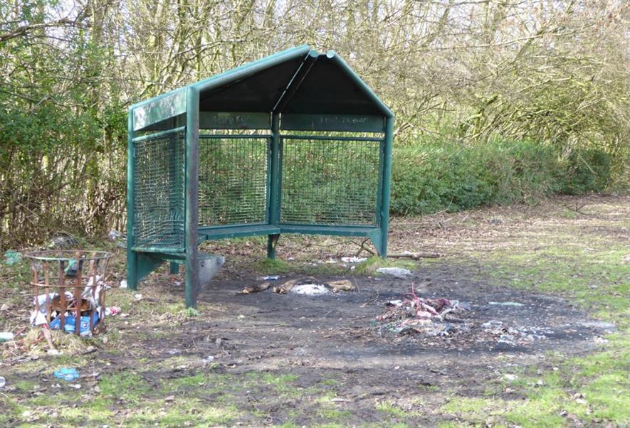 One of the pictures of neglected parks in the 2016 HLF report. Image: Peter Neal