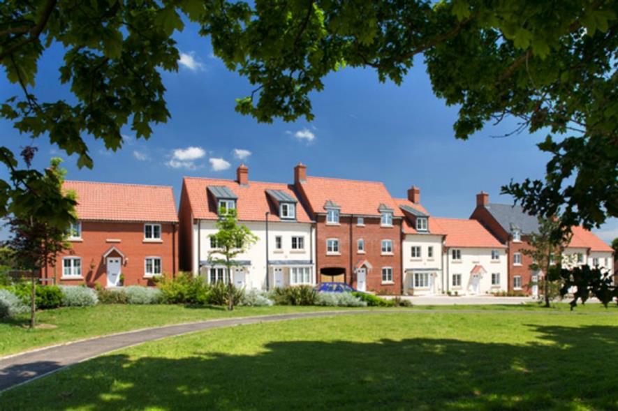 Barratt development: Hortham Village, Bristol