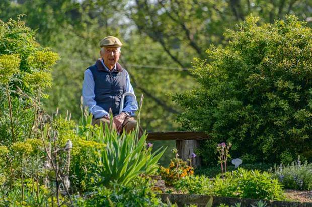 Recent portrait of Bernard Tickner taken by Ginger Horticulture/Jonathan Ward