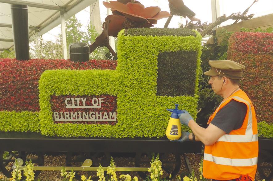 Birmingham: Chelsea displays treated as shop window - image: HW