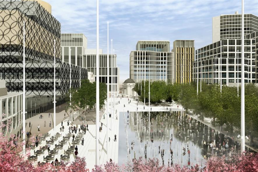 The winning Centenary Square design. Image: Graeme Massie Architects