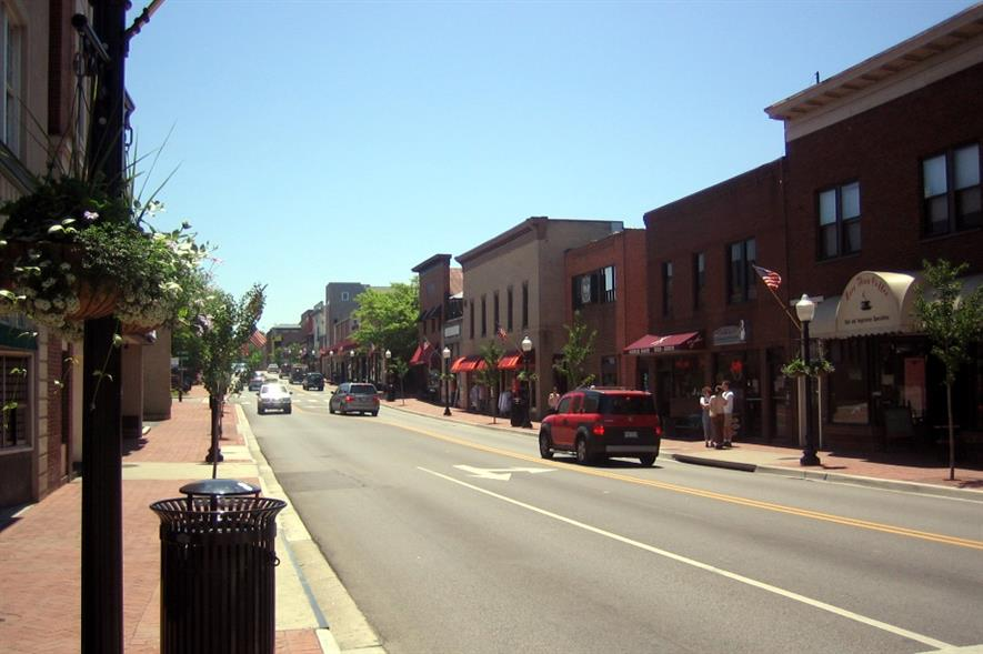Blacksburg VA, home of Virginia Tech