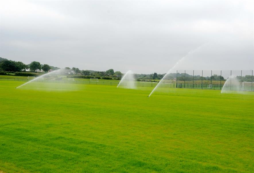 Toro irrigation in action