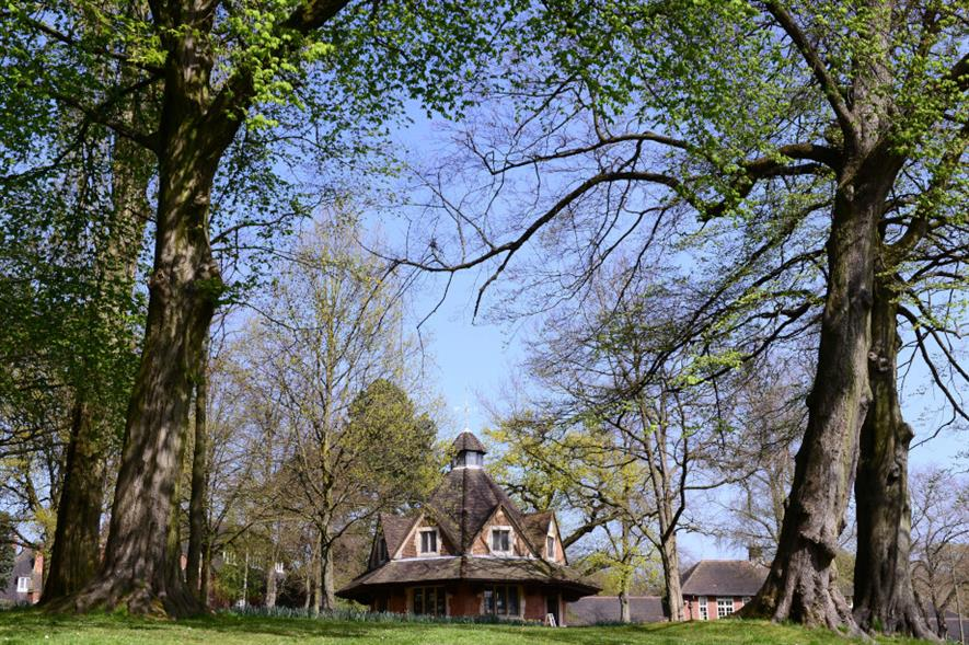 Bournville Village Green, south Birmingham - credit: Bournville Village Trust