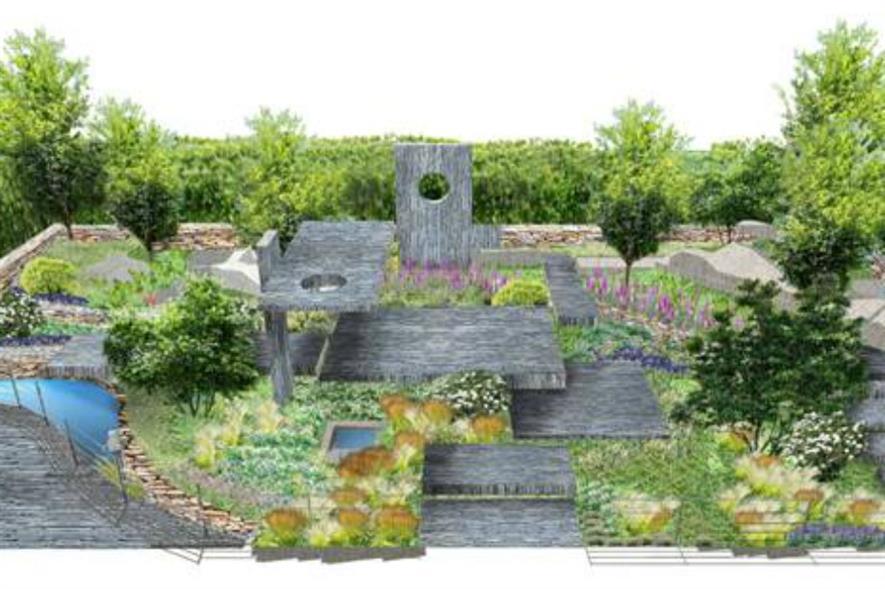 Darren Hawkes' design for the Brewin Dolphin Garden