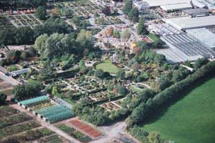 The Bridgemere site, set to make way for a new Wyevale centre - photo: Wyevale