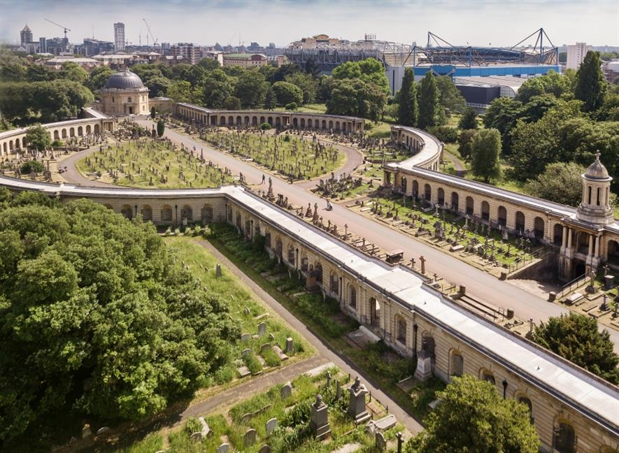 Brompton Cemetery. Image: The Royal Parks