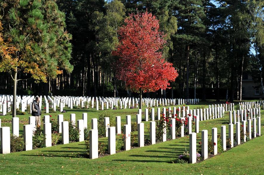 Brookwood Military Cemetery in Surrey - credit: CWGC