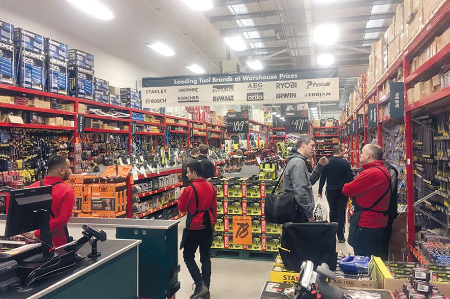 Bunnings: offering customers a broader range of products from which to choose - image: HW