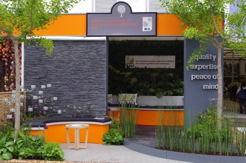 The leafy BALI stand at RHS Chelsea Flower Show