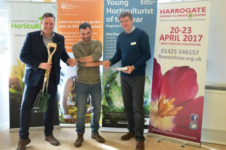 Regional winner in the North, Matthew Brewer, is a first-time finalist. Image: RHS Harlow Carr