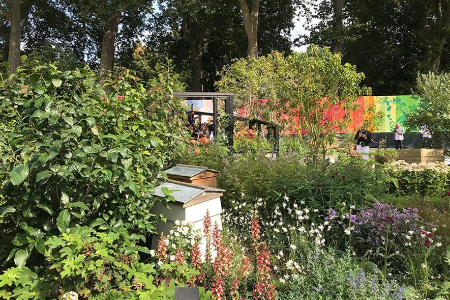 COP26 Chelsea garden