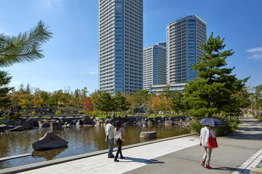 Conran + Partners completes regeneration scheme in Tokyo. Image (C) Edmund Sumner