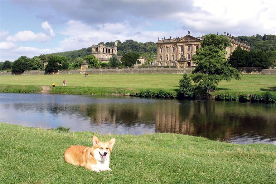 Chatsworth: site featured in Capability Brown Festival - image: Morguefile