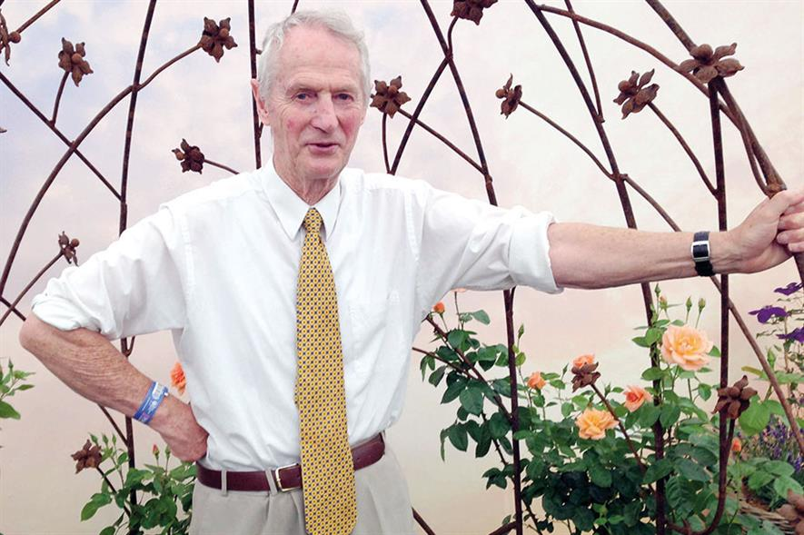 Warner: breeder of rose of the year Scent From Heaven - image: HW