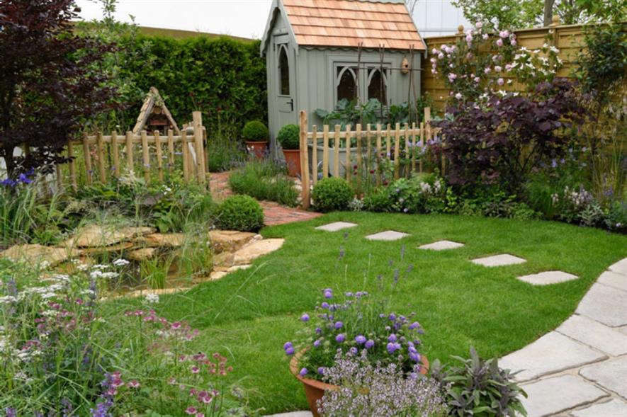 Claudia de Yong' Urban Nature garden. Image: BBC Gardener's World Live