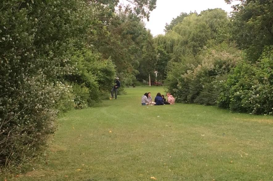 Clissold Park, east London. Image: HW