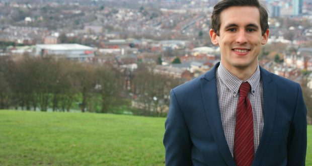 Councillor Lewis Dagnall - image: Sheffield City Council