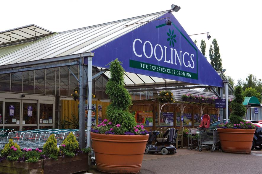 Coolings: garden centre pleased with two per cent plant sales increase recorded in August