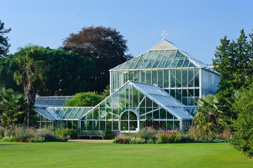 Cambridge University Botanic Garden Tropical House - credit: CU Botanic Garden/Flickr