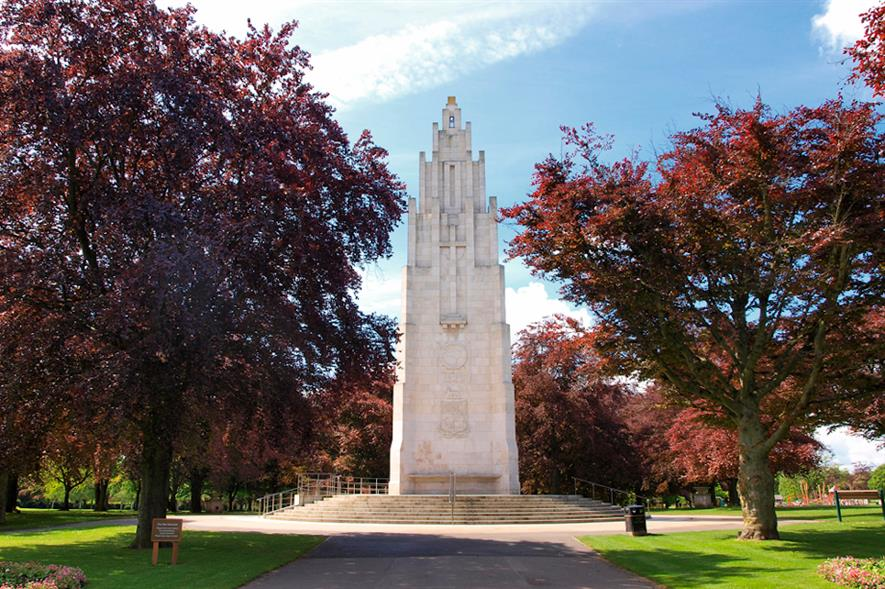 War Memorial Park, Coventry, the first of the 232 Centenary Fields to be dedicated - credit: Fields in Trust
