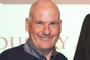 Steve Braddock, head groundsman, Arsenal Training Centre. Image: IOG