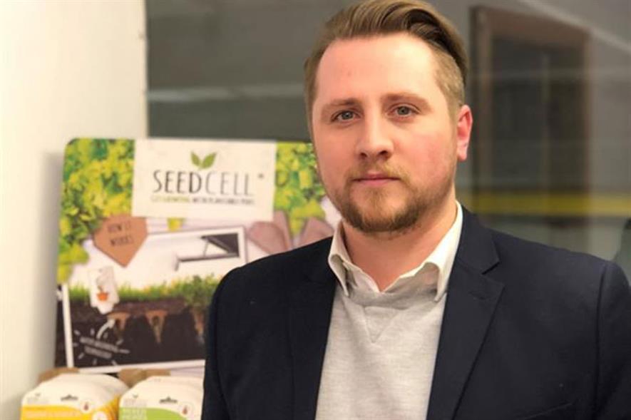 Dan Robson, co-founder of Green Digit