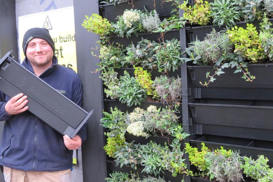 Biotecture PlantBox system - image: Provender Nurseries