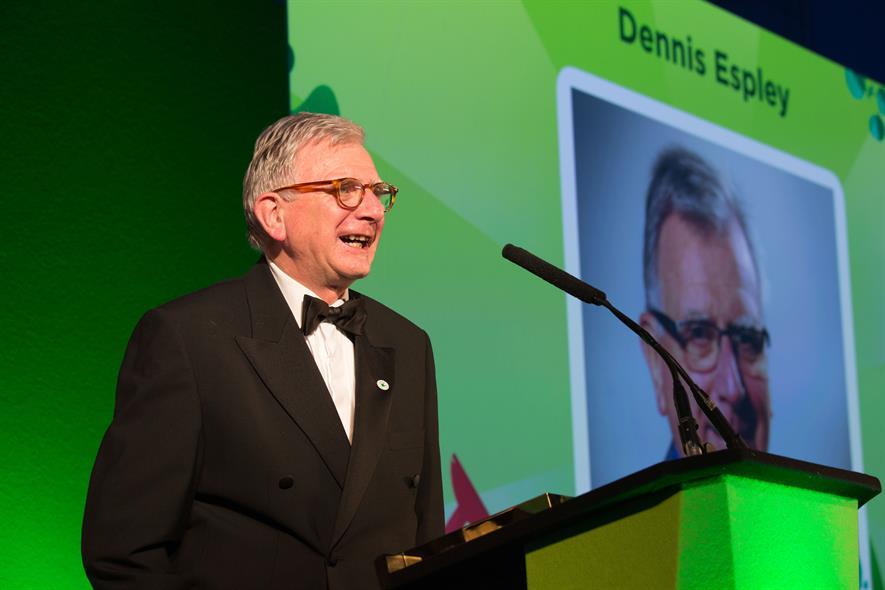 Garden Retail Awards 2017 Lifetime Achievement Award: Dennis Espley