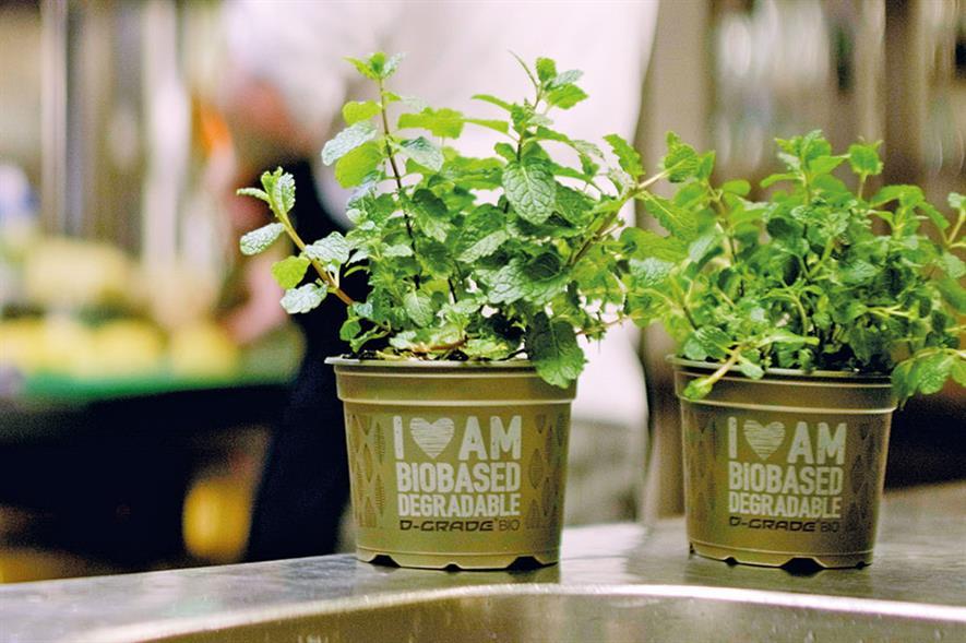 D-Grade BIO: range is suitable for herbs - credit: Desch Plantpak