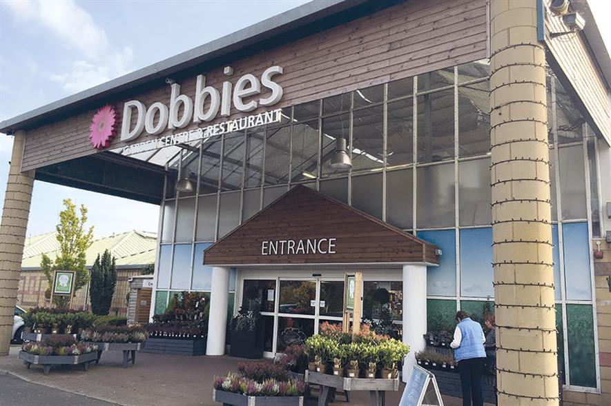 Edinburgh: flagship garden centre in Dobbies chain located in the Scottish capital - image: HW