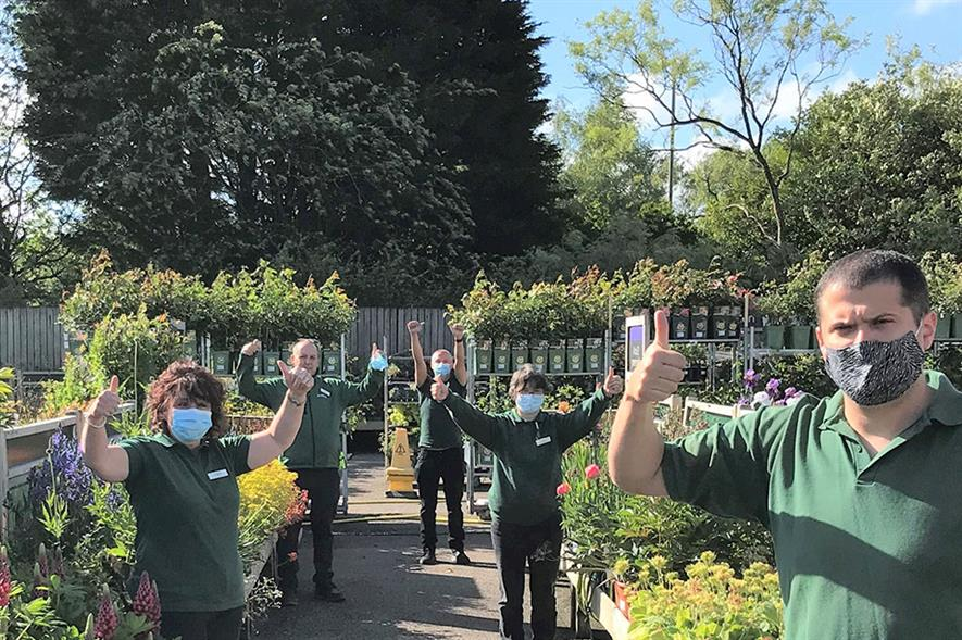 Dobbies' Swansea store reopening after the first lockdown - credit: Dobbies Garden Centres