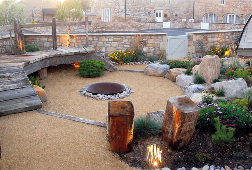 Northumbrian Landscaping's work at Beach Bears