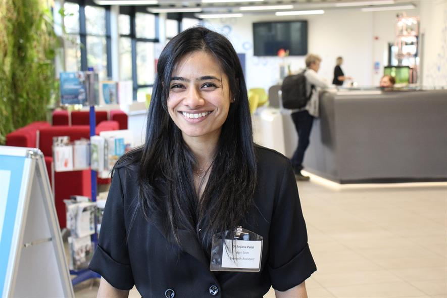 Pershore College Agri-Tech Research Assistant Dr Anjana Patel - credit: Pershore College