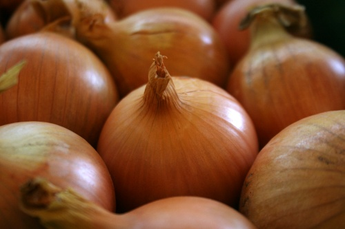 onions: 6.9 million tonnes were traded across borders last year. Image: HW