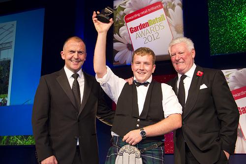 Westland Star of the Future: Matthew Lowe, Merryhatton Garden Centre (sponsor Westland), Garden Retail Awards 2012