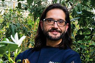 Carlos Magdalena, Royal Botanic Gardens Kew  Image: HW