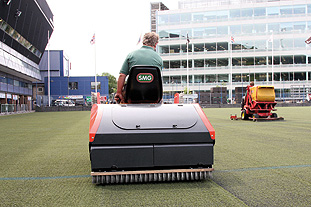 Maintenance: little-and-often programme advised for artificial surfaces   Image: Technical Surfaces
