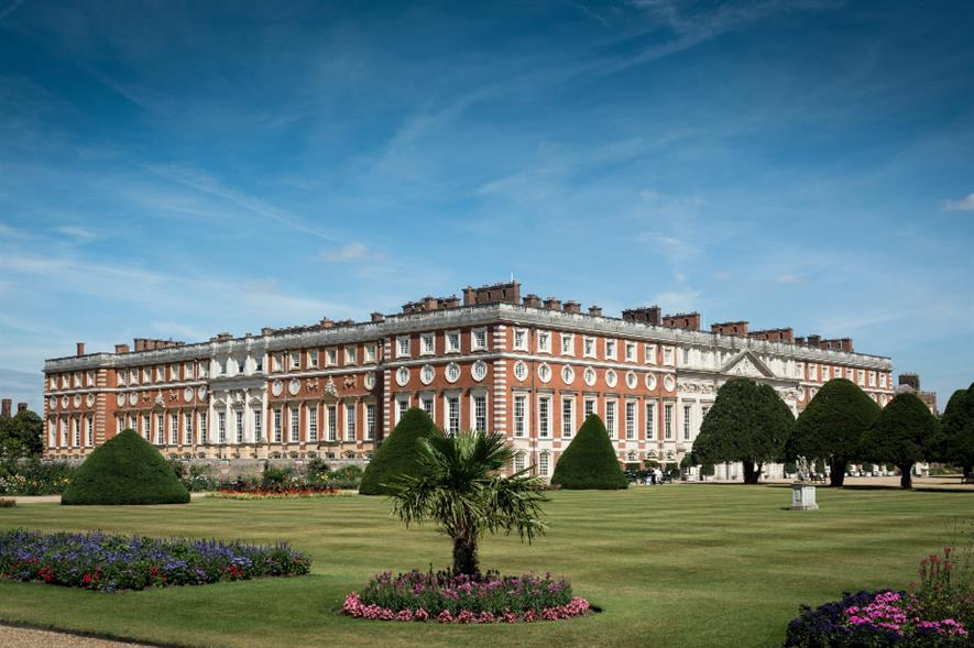 Hampton Court Palace gardens - credit: Historic Royal Palaces