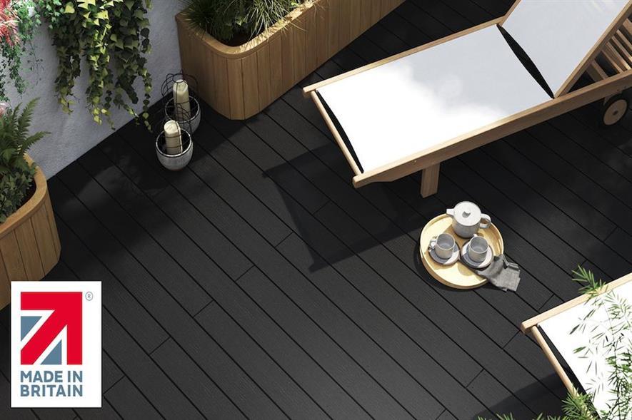 Ecodek fulfils decking demand with timber alternative - credit: Ecodek