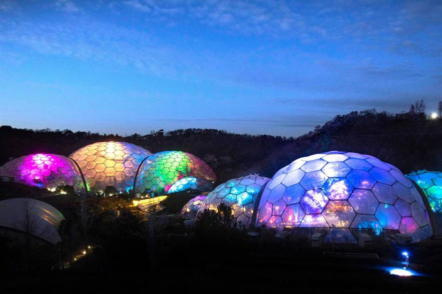 Christmas celebrations at the Eden Project, Cornwall - credit: Eden Project