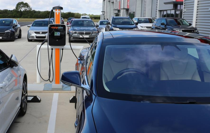 Ground Control has partnered with US company ChargePoint. Image: Ground Control