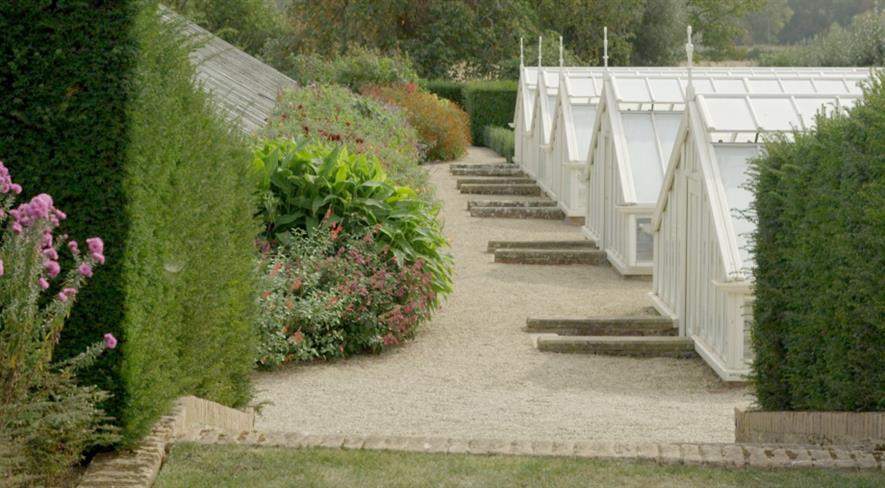 Eythrope is a working kitchen garden. Image: Waddesdon