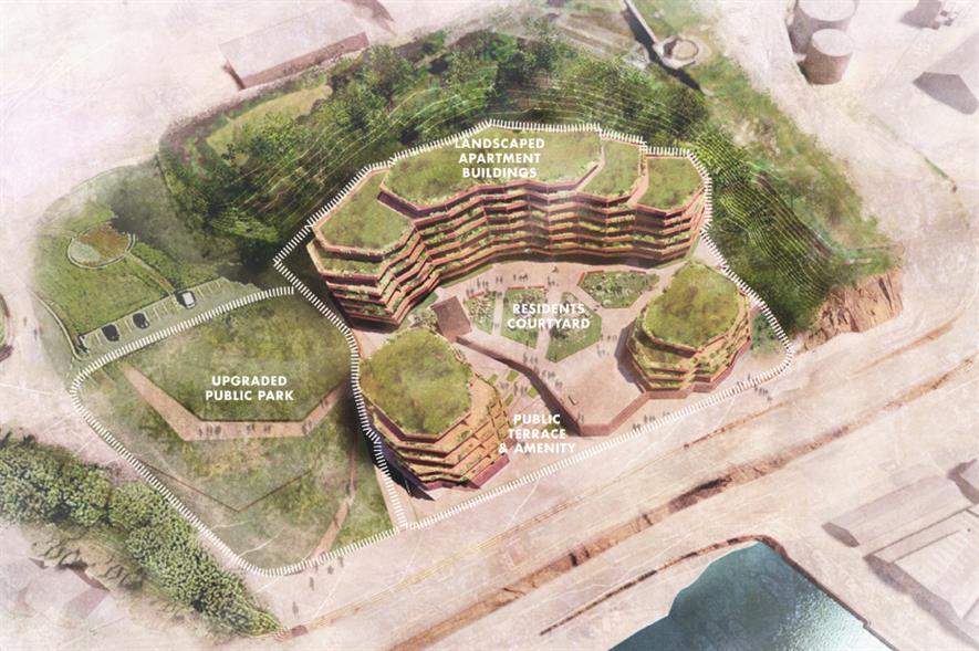 South Hill living in a landscape design - credit: FCBStudios