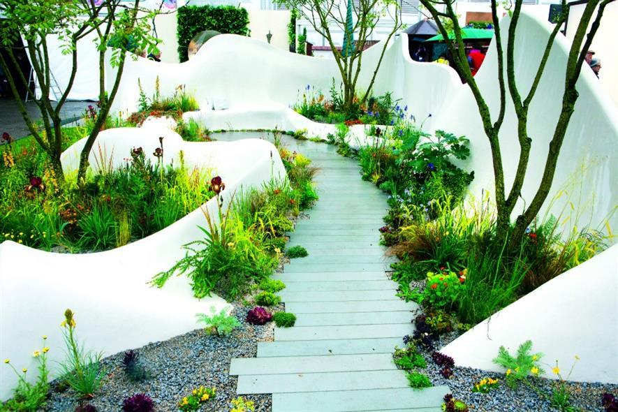 Chelsea:creativity such as display garden by designer Fernando Gonzalez and landscape contractor The Garden Builders